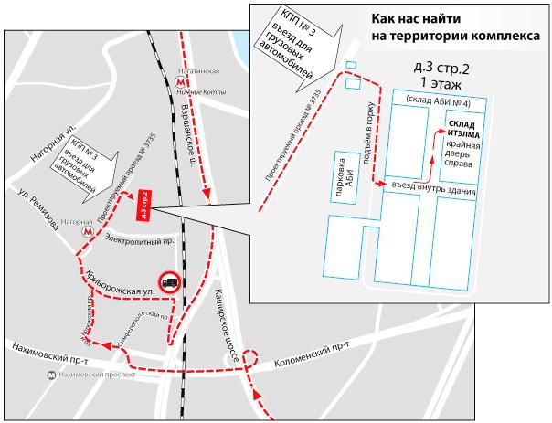 2017-06-01-Схема проезда на склад ИТЭЛМА