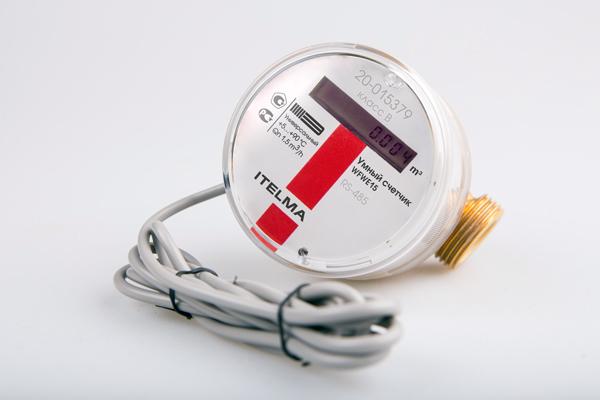 Счетчик воды ITELMA RS485